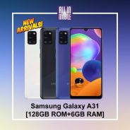 Samsung Galaxy A31 [128GB+6GB] Original MY Set