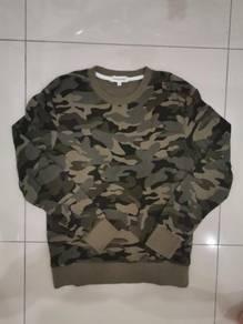 Padini Authentic 100% Original Camo Sweater