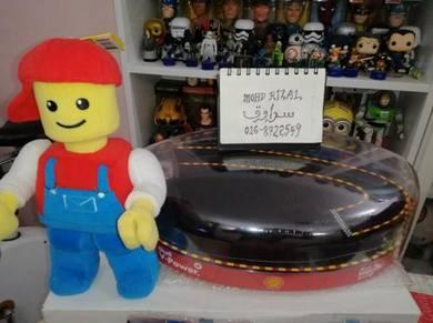 SHELL F1 FERRARI LEGO Garage Case Racing Housing