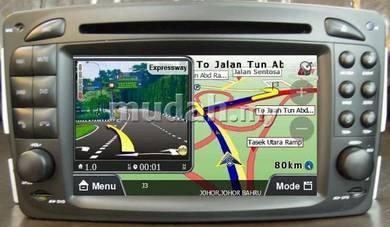 BENZ W203 00-05 7 Inch 2-Din DVD GPS Rear Camera