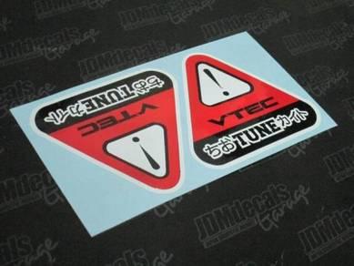VTEC Tune Sticker