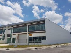 Factory 1.5 storey terrace, industrial park Tiong Nam