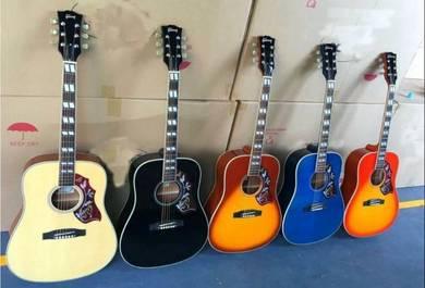 Gibson Hummingbird acoustic guitar with fishman EQ