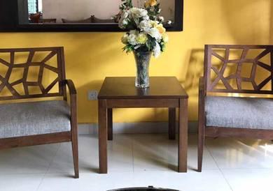 Set meja dan kerusi (Macy)
