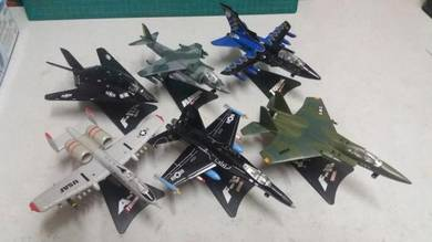 Set of Die Cast Jets