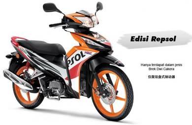 Honda Wave Dash FI Repsol