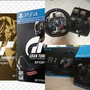 Logitech G29 Racing Wheel + shifter + Ps4 GT SPORT