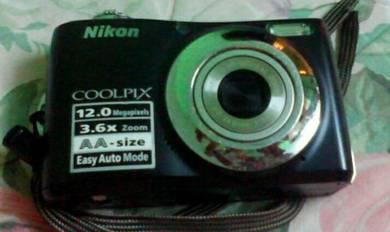 Camera Nikon COOLPIX L22