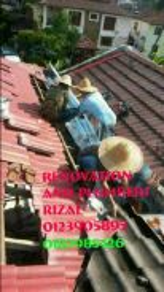 Repair roof leaks setapak