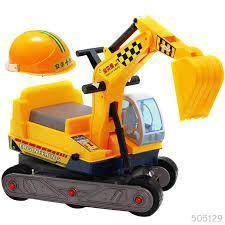 Toadler escavator