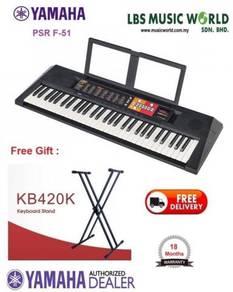 Yamaha portable keyboard PSR F-51 Package