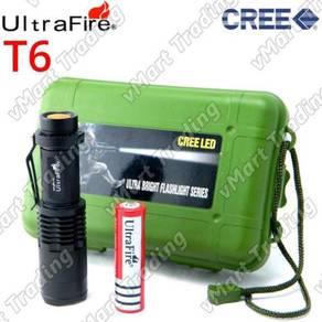 Mini CREE XM-L T6 Flashlight Torchlight