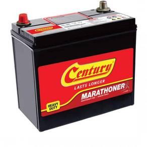 Bateri kereta century marathoner