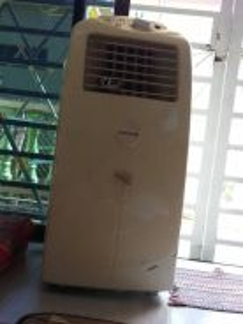 Portable Aircond Hesstar (Second)