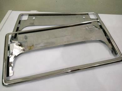 Frame Plate Toyota Chrome Vellfire Myvi Vios