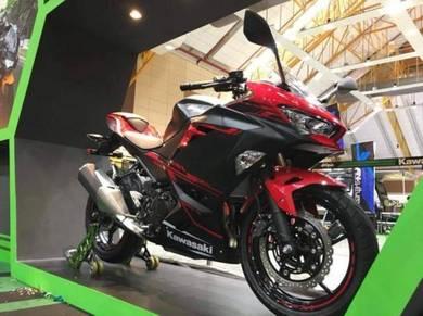 2018 Kawasaki Ninja 250 19 Free Gift Items With Exhaust