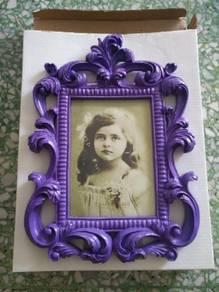 Lovely Lace Photo Frame (Purple)