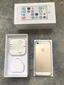 IPhone 5s 64GB, Fullset (Gold Colour) For sale