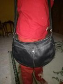 Longchamp leather sling bag