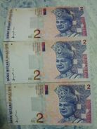 Old Money Rm2000 for 3 pcs.