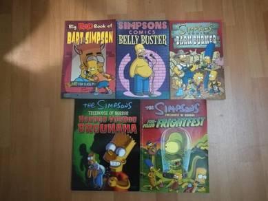 The Simpsons comics.