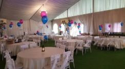 952) Wedding Event wIth Boquet Balloon Deco