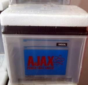 Car battery ns70 ns70l 55d23l bateri kereta lorry