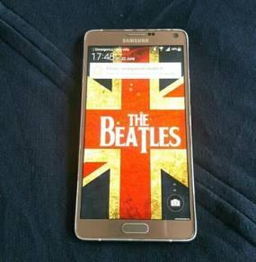 Samsung note 4 gold