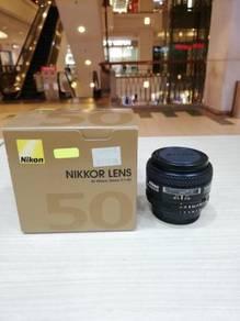 Nikon af 50mm f1.4d lens (99% new)