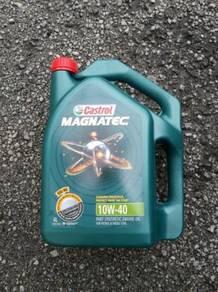Castrol Magnatec 10w40 semi synthetics