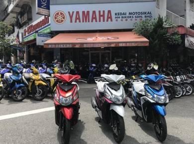Yamaha Ego Solariz Senang Raya Promo GST 0%