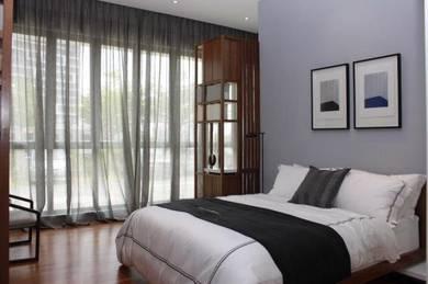 [BEST] Infiniti 3 Queen Bed Sofa 3R2B, 5min to LRT Sri Rampai, setapak