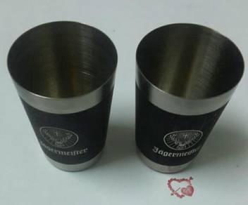 Jägermeífter Leather Wrapped Metal ShotGlass-2