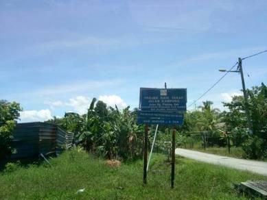 Tanah kebun getah 1 ekar lebih untuk dijual,Kuala Ketil