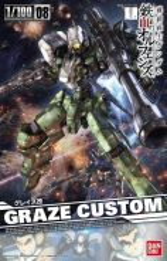 Bandai 1/100 Graze Custom