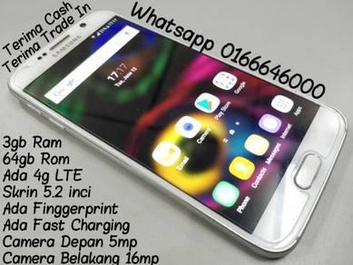 Samsung S6 Biasa 64gb