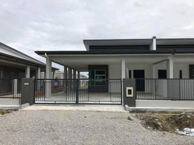 New Single Storey Terrace At Matang