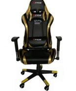The Elite Pro Gold Trimming Gaming Swivel Chair