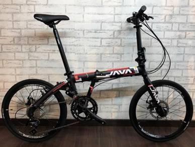 2018 JAVA PRO 3 18SPEED folding bike bicycle LIPAT