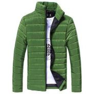 369 Army Green Padded Winter Sweater Coat Jacket
