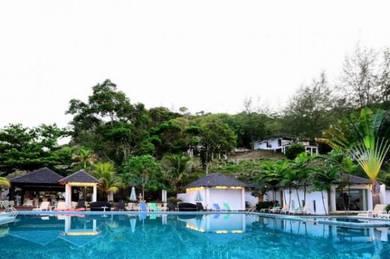AMI Travel   2D1N Relaxing at Pulau Sibu's resort