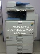 Machine photocopier color mpc3000