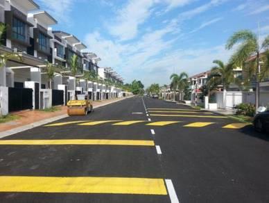 NEW Ready 2.5 storeys Terrace Meru Setia City Mall 0 D/P FULL LOAN