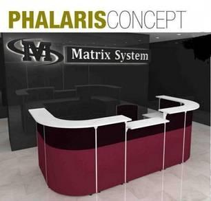 Reception Counter Table PHALARIS CONCEPT