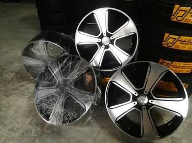 Mercedes glc class 20''j genuine alloy wheel