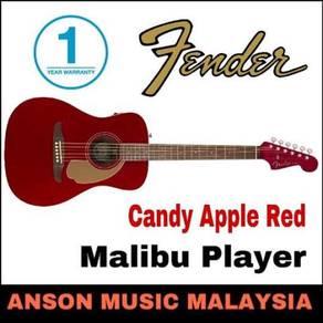 Fender California Malibu Player,Candy Apple Red