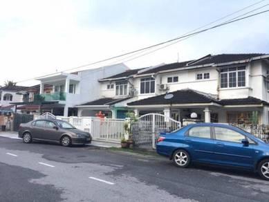Pandan indah 2storey house ampang 18x65sf below market