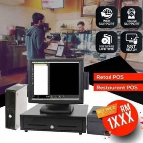 Retail FNB Cashier Machine FullSet Pos System