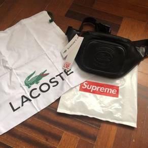 Lacoste X Supreme bag