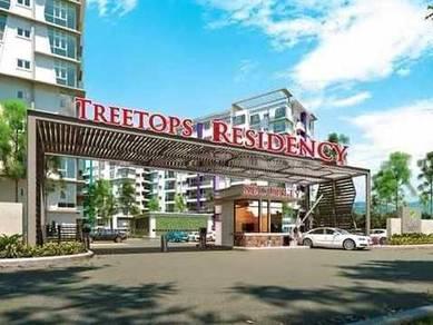SKY [ RENT] Fully Furnished Treetop Residence Pengkalan / Botani